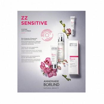 """Набор пробников для чувствительной кожи """"Zz Sensitive"""" Annemarie Borlind, 4 шт."""