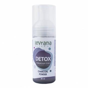 Очищающая пенка для умывания «DETOX» Levrana