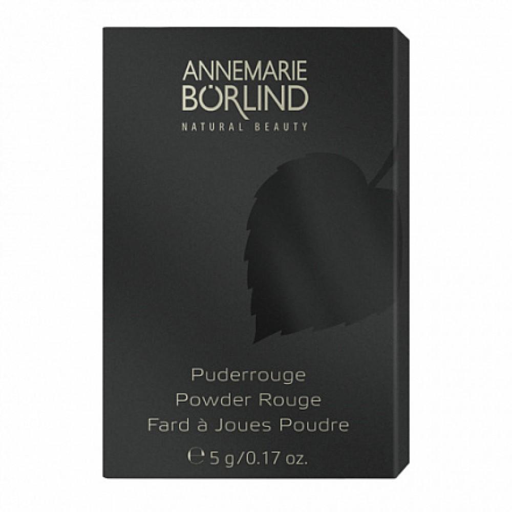 """Компактные румяна """"Персик"""" Annemarie Borlind, 5 г"""