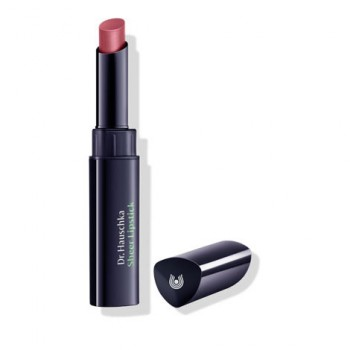 Помада для губ увлажняющая 02 пыльно-розовая роза китайская (Sheer Lipstick 02 rosanna) 2 г, Dr. Hauschka