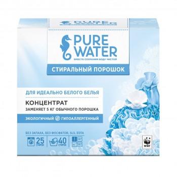 Стиральный порошок для белого белья Pure Water 800 г, mi&ko