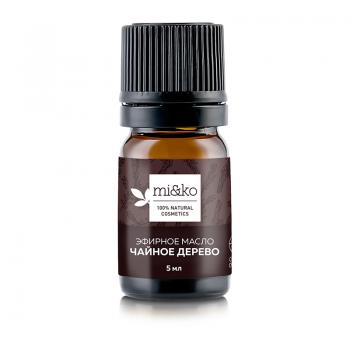 Эфирное масло Чайное дерево mi&ko, органик (COSMOS ORGANIC), 5 мл.