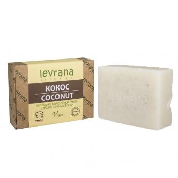 """""""Кокос"""", натуральное мыло ручной работы, 100 гр, Levrana"""