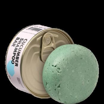 Твердый шампунь с огурцом (Cucumber Shampoo bar), Laboratorium, 75 г.