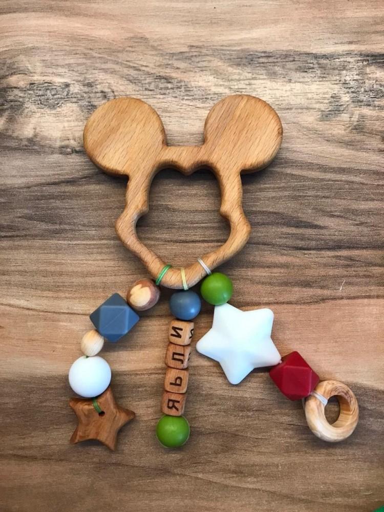 Грызунок-прорезыватель для зубов Мышонок можжевеловый